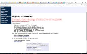 Kuvakaappaus TinyURL.com sivustosta - lyhennetynlinkin voi purkaa vaikkapa TinyUrl sivustolla