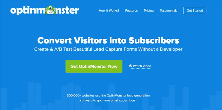 Testissä Optinmonster – kasvata sähköpostilistaasi